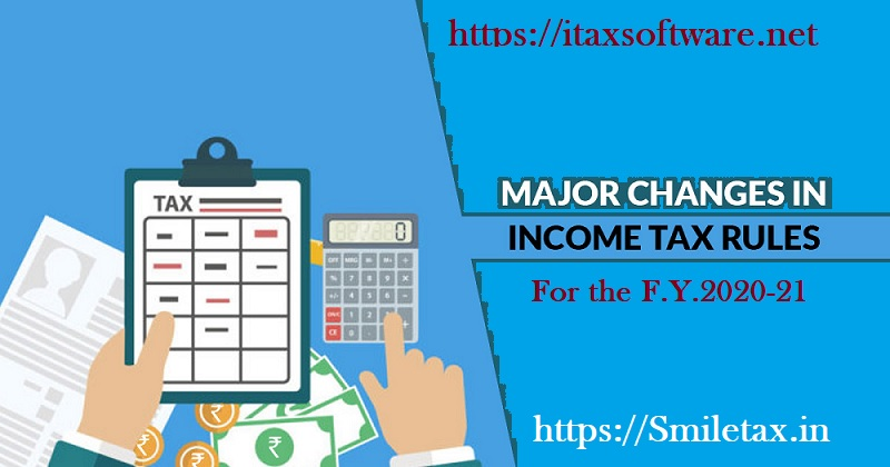 Major changed in tax